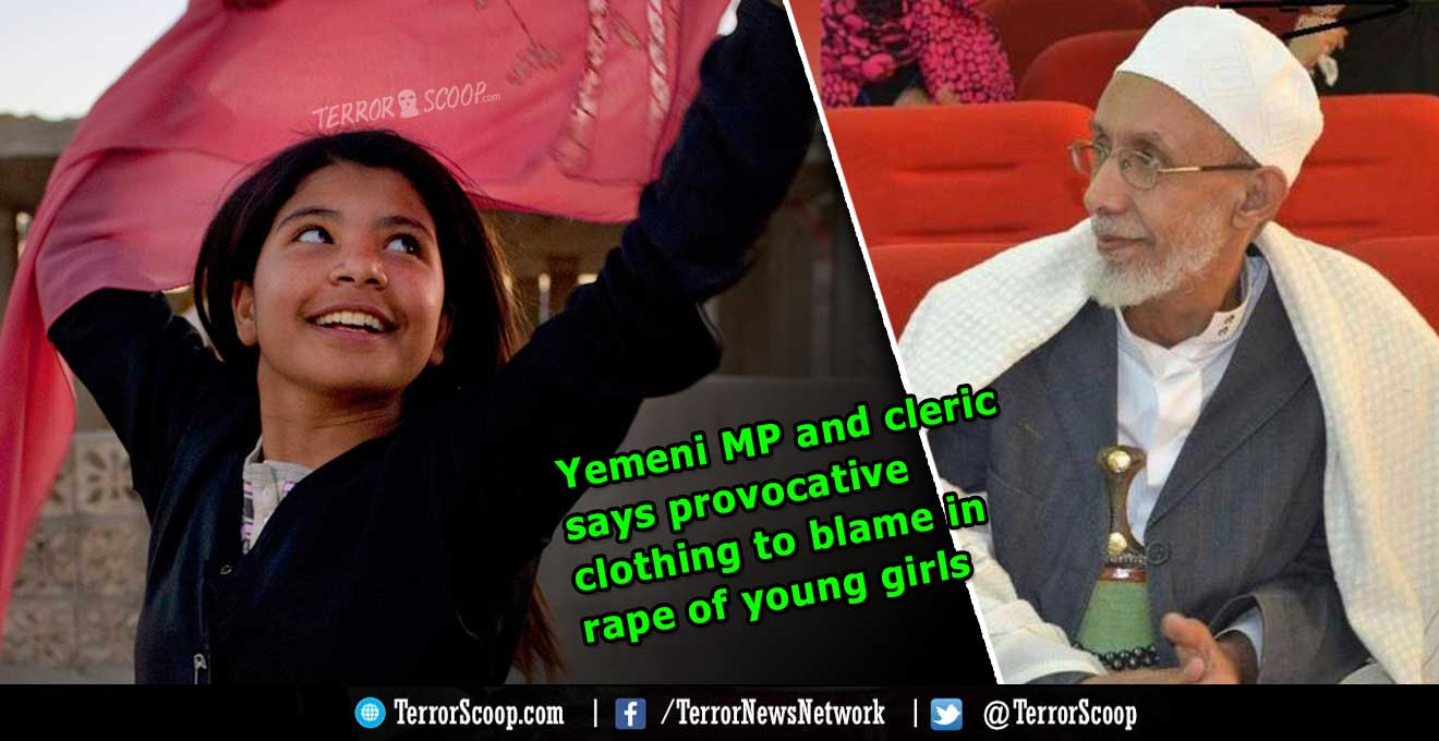 Yemeni-MP-and-cleric-says-provocative-clothing-to-blame-in-rape-of-young-girls