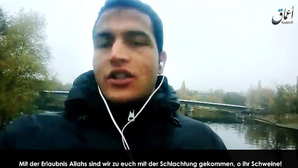 Anis Amri first shot a truck driver in Berlin