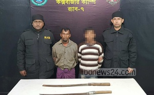 Two Rohingyas were arrested in January on murder charges