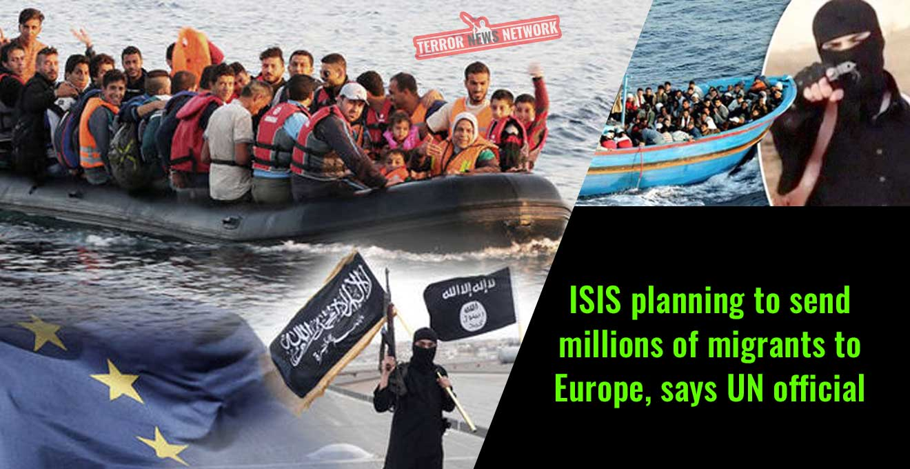 ISIS-planning-to-send-millions-of-migrants-to-Europe,-says-UN-official