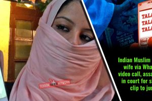 Indian-Muslim-divorces-wife-via-WhatsApp-video-call,-assaults-her-in-court-for-showing-clip-to-judge
