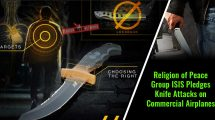 Religion-of-Peace-Group-ISIS-Pledges-Knife-Attacks-on-Commercial-Airplanes