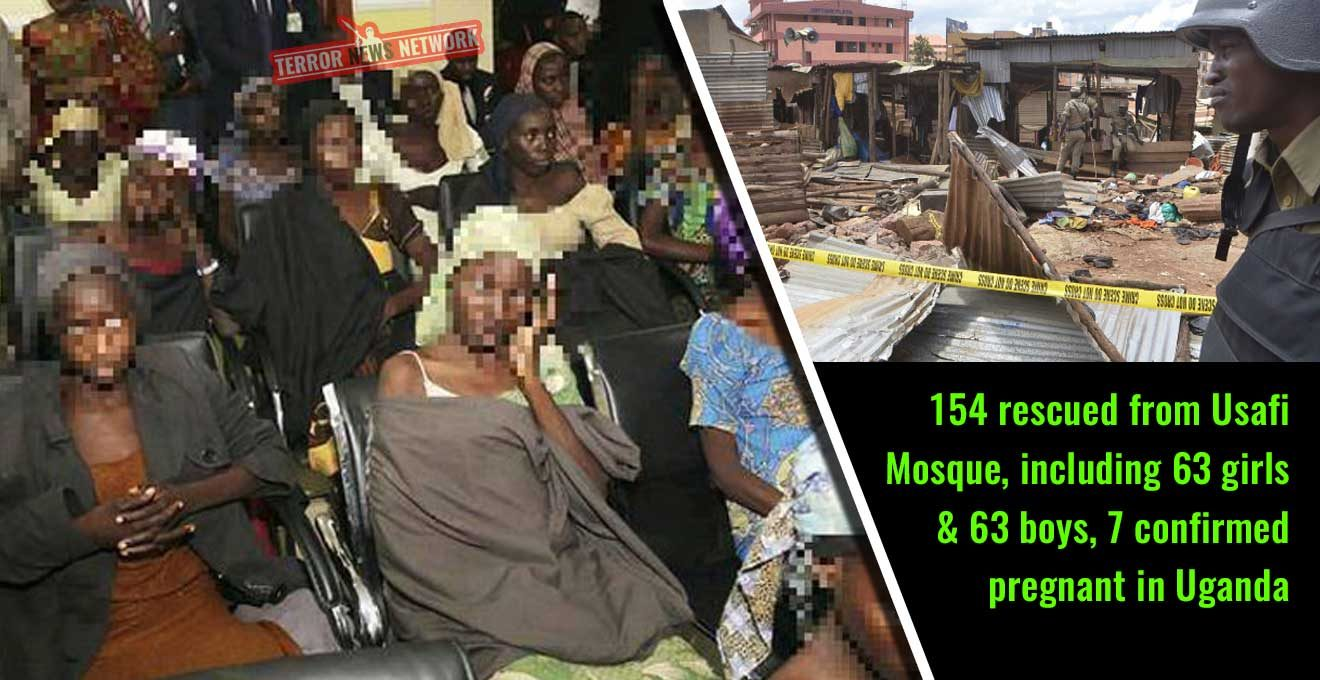 154-rescued-from-Usafi-Mosque,-including-63-girls-and-63-boys,-7-confirmed-pregnant-in-Uganda