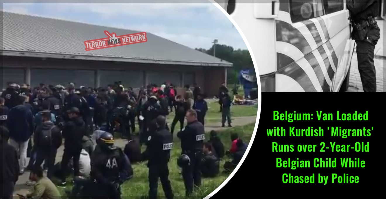Belgium-Van-Loaded-with-Kurdish-'Migrants'-Runs-over-2-Year-Old-Belgian-Child-While-Chased-by-Police
