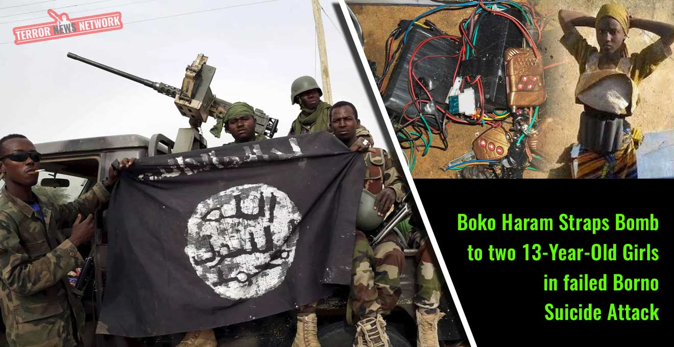 Boko-Haram-Straps-Bomb-to-two-13-Year-Old-Girls-in-failed-Borno-suicide-attack