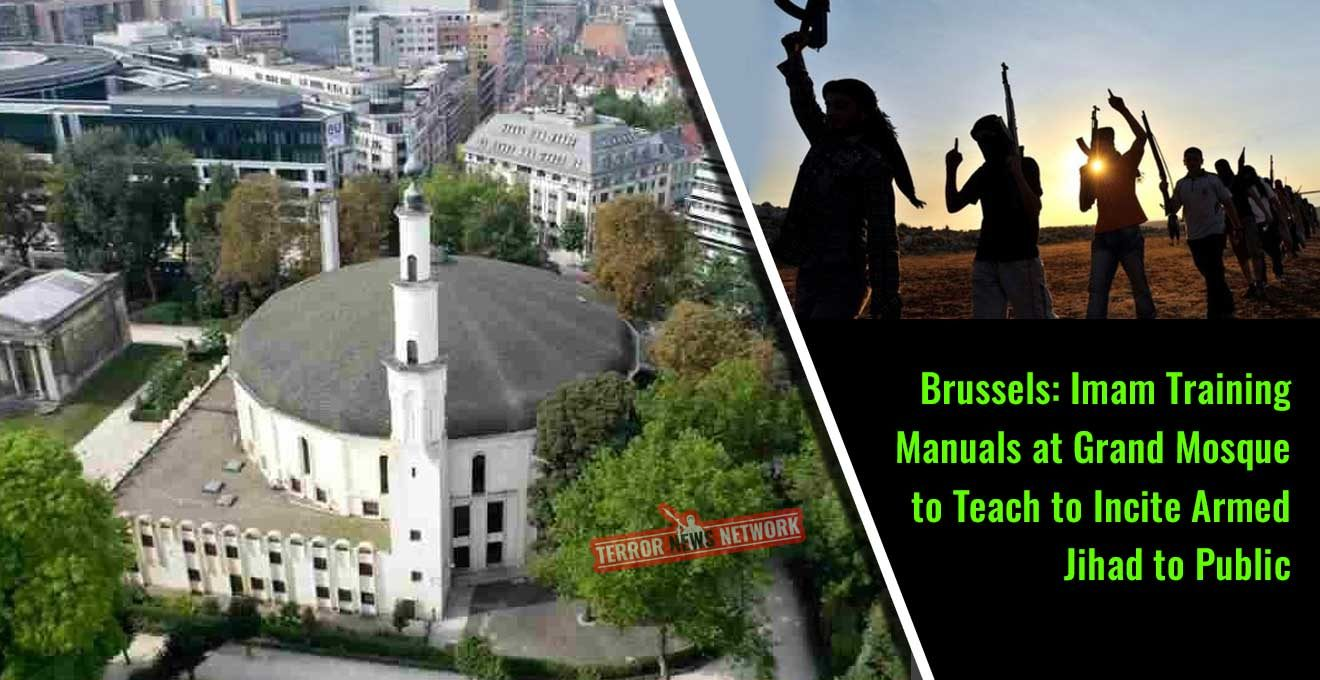 Brussels-Imam-Training-Manuals-at-Grand-Mosque-to-Teach-to-Incite-Armed-Jihad-to-Public