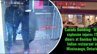 Canada-Bombing-'IED'-explosion-injures-15-diners-at-Bombay-Bhel-Indian-restaurant-in-Mississauga,-Ontario