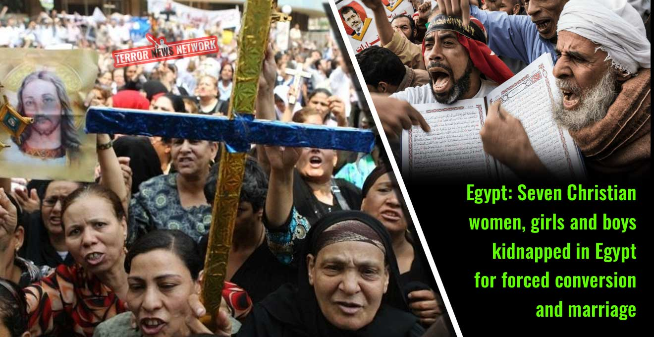 Egypt-Seven-Christian-women-and-girls-kidnapped-in-Egypt-in-one-month-for-forced-conversion-and-marriage