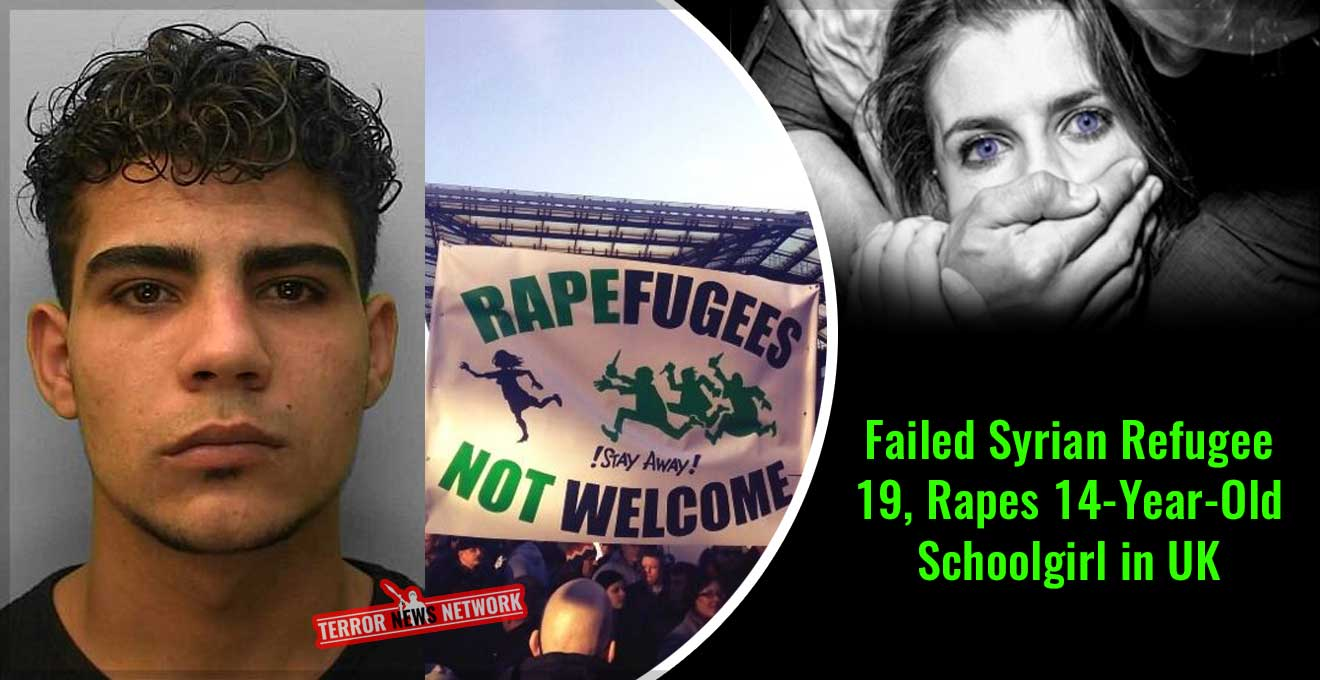 Failed-Syrian-Refugee-19,-Rapes-14-Year-Old-Schoolgirl-in-UK