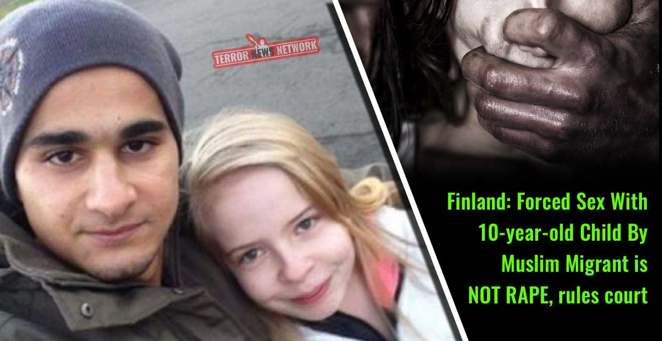Finland-Forced-Sex-With-10-year-old-Child-By-Muslim-Migrant-is-NOT-RAPE,-rules-court