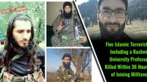 Five-Islamic-Terrorists-Including-a-Kashmir-University-Professor-Killed-Within-36-Hours-of-Joining-Militancy