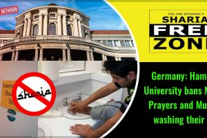 Germany-Hamburg-University-bans-Muslim-Prayers-and-Muslims-washing-their-feet