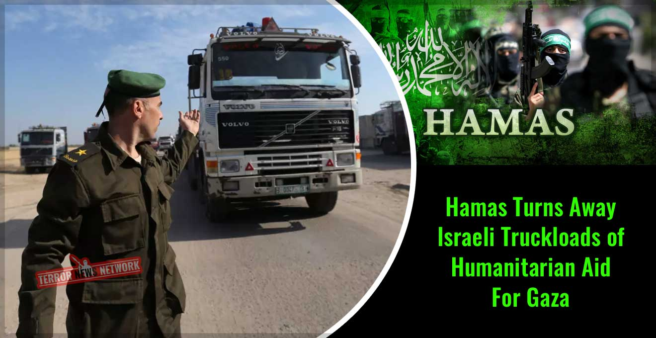 Hamas-Turns-Away-Israeli-Truckloads-of-Humanitarian-Aid-For-Gaza
