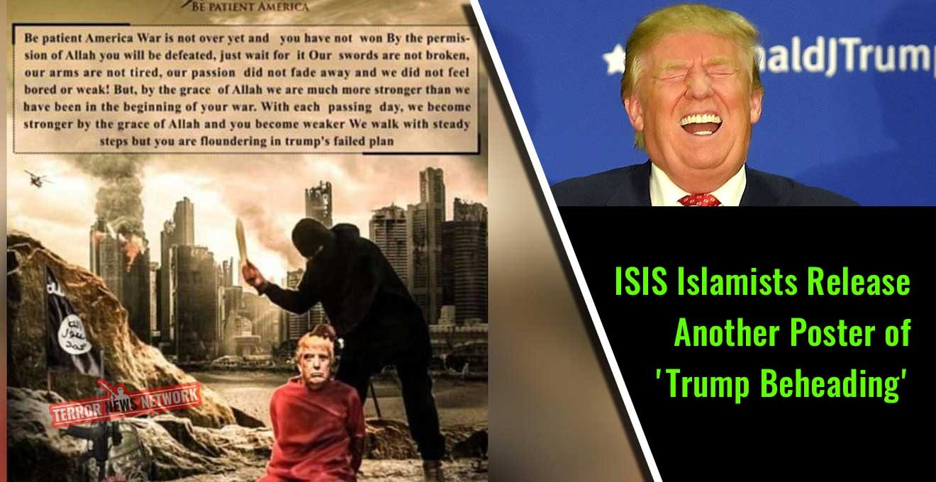 ISIS-Islamists-Release-Another-Poster-of-'Trump-Beheading'