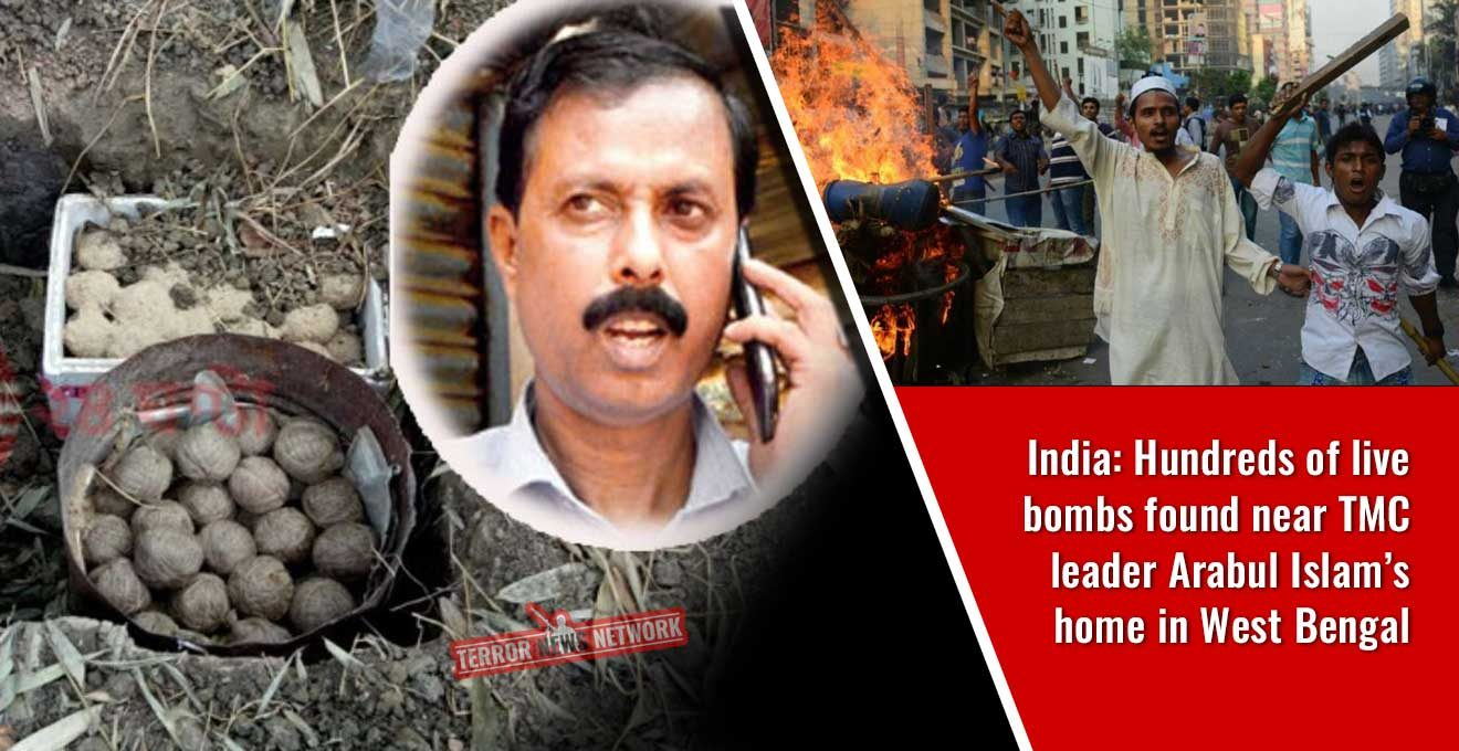 India-Hundreds-of-live-bombs-found-near-TMC-leader-Arabul-Islam's-home-in-West-Bengal