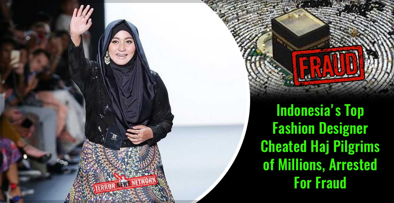 Indonesia's-Top-Fashion-Designer-Cheated-Haj-Pilgrims-of-Millions,-Arrested-For-Fraud
