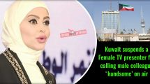 Kuwait-suspends-a-Female-TV-presenter-for-calling-male-colleague-'handsome'-on-air