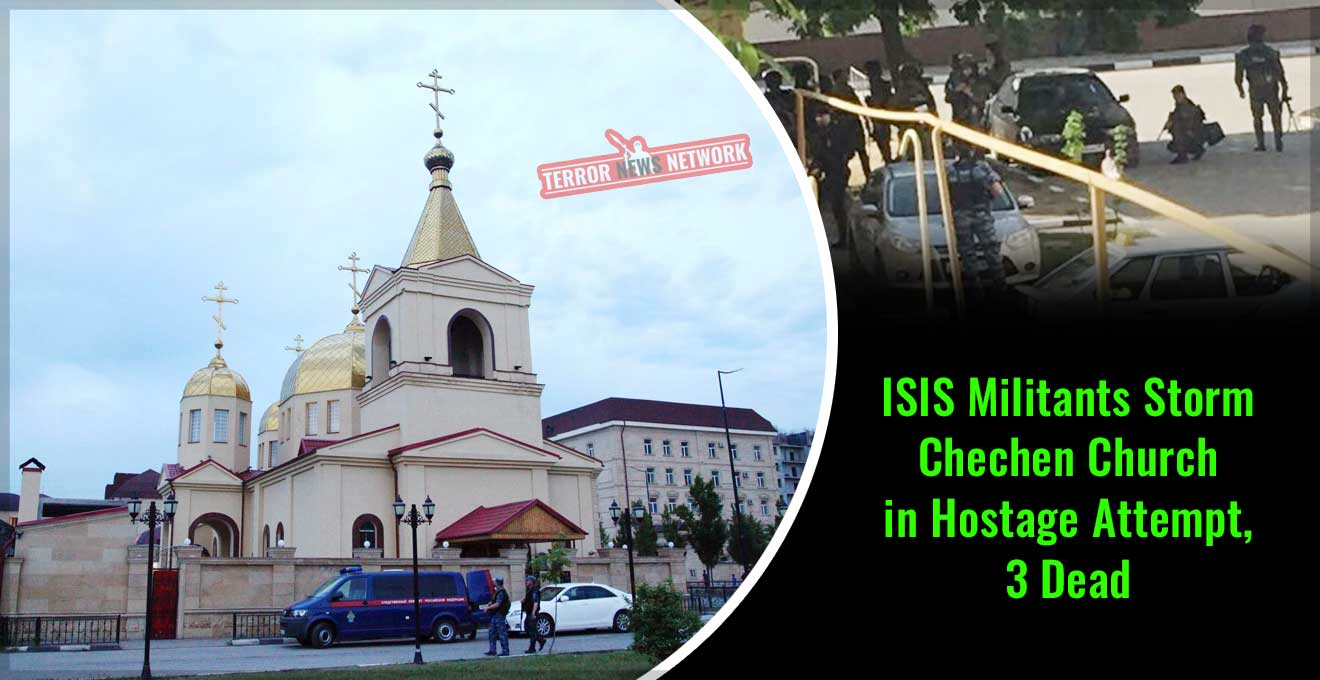ISIS Militants-Storm-Chechen-Church-in-Hostage-Attempt--3-Dead