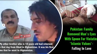 Pakistan-Family-Removed-Man's-Eyes-With-Spoon-For-Violating-'Islamic-Values',-for-falling-in-love