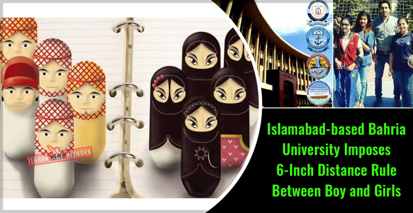 Pakistan-Islamabad-based-Bahria-University-Imposes-6-Inch-Distance-Rule-Between-Boy-and-Girls