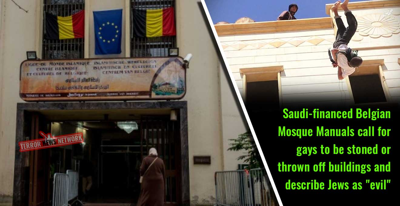 Saudi-financed-Belgian-Mosque-Manuals-call-for-gays-to-be-stoned-to-death-or-thrown-off-buildings-and-describe-Jews-as-evil