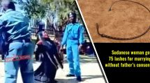 Sudanese-woman-got-75-lashes-for-marrying-without-father's-consent