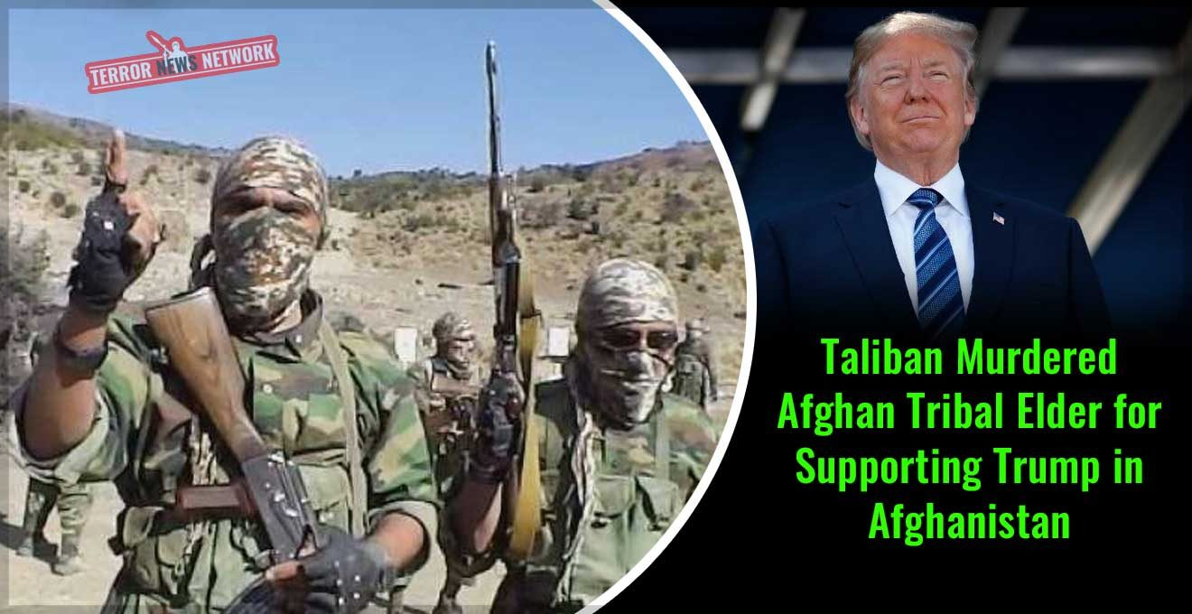 Taliban-Murdered-Afghan-Tribal-Elder-for-Supporting-Trump