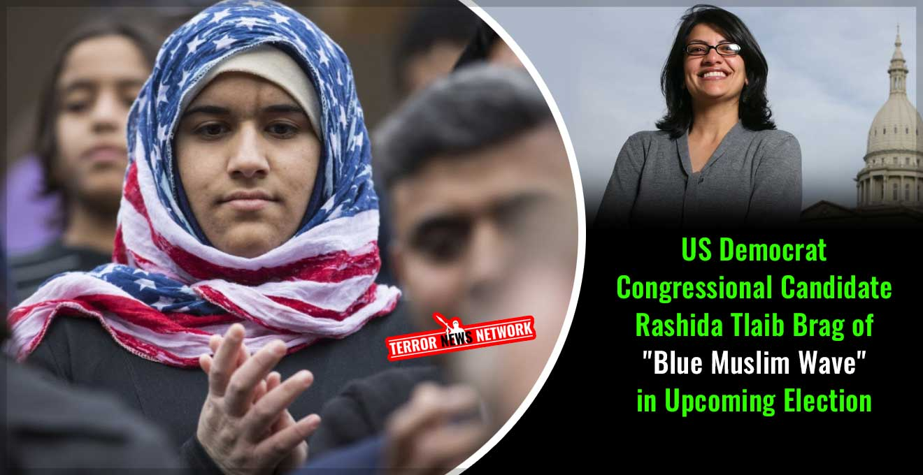 US-Democrat-Congressional-Candidate-Rashida-Tlaib-Brag-of-Blue-Muslim-Wave-in-Upcoming-Election