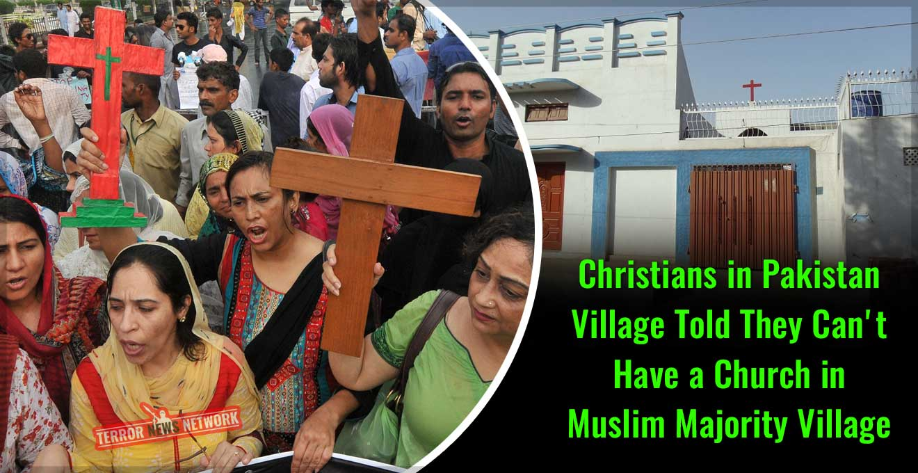 Christians-in-Pakistan-Village-Told-They-Can't-Have-a-Church-in-Muslim-Majority-Village