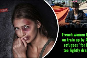 French-woman-beaten-on-train-up-by-Afghan-refugees-'for-being-too-lightly-dressed'